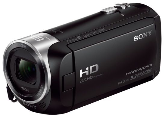 Видеокамера Sony HDR-CX405 видеокамера full hd sony hdr cx900