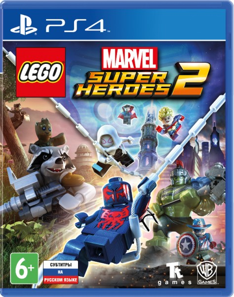 SONY PS4 LEGO Marvel Super Heroes 2 ( рус.докум) конструктор lego marvel super heroes атака опустошителя 76079