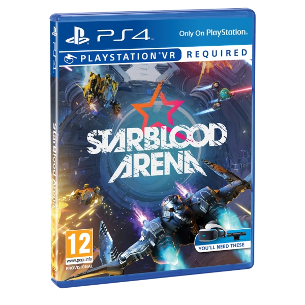 Игра StarBlood Arena для для Sony PS4 (только для VR) русская версия robinson the journey только для vr [ps4]