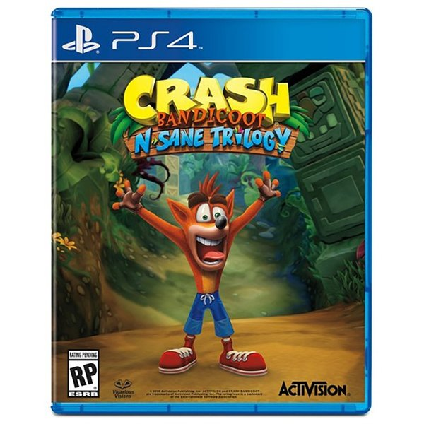 SONY PS4 Crash Bandicoot N'sane Trilogy [английская версия] building blocks harry potter ron weasley professor sprout malfoy argus filch diy figures super hero bricks kids diy toys hobbies