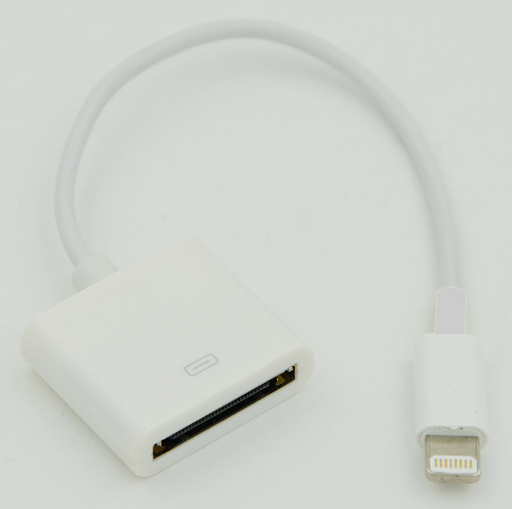 apple lightning на 30 pin 0 2м Адаптер 8pin(m), 30pin(f) (0.2m) Apple Lightning (APPLE LIGHTNING)