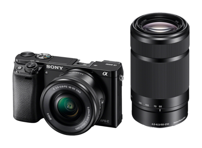 Фотоаппарат Sony Alpha ILCE-6000Y цифровой фотоаппарат sony alpha ilce a7sm2 body
