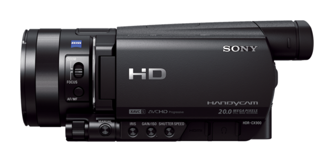 Видеокамера Sony HDR-CX900E sony hdr as50b