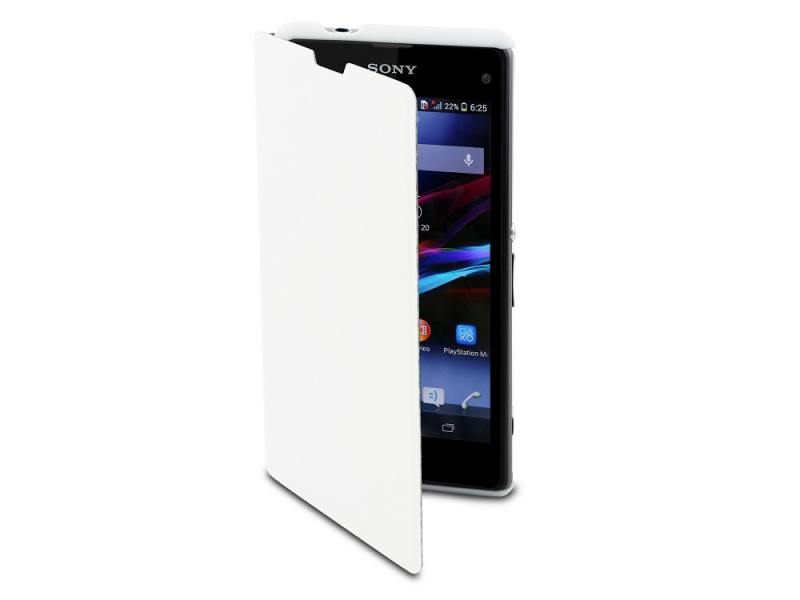 Чехол-книжка Muvit MFX Easy Folio Case для Sony Xperia C4 белый SEEAF0029 чехол книжка muvit mfx folio case для sony xperia x performance черный seeaf0040