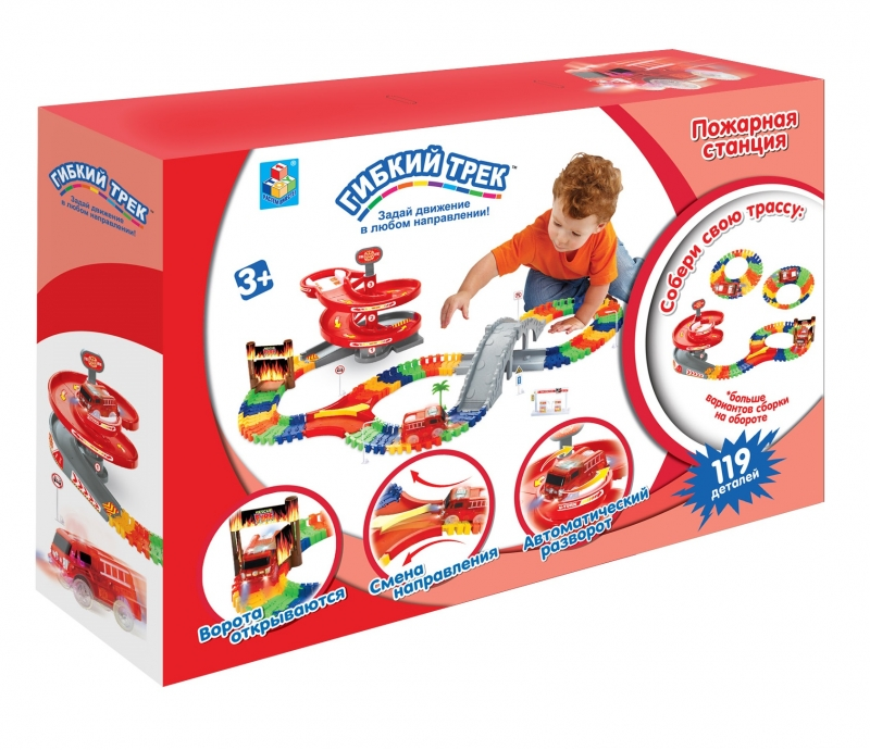 1toy гибкий трек 1 Toy Т59308 1 toy т58533