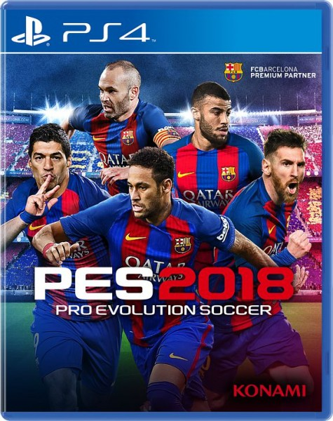 SONY PS4 Pro Evolution Soccer 2018 [русская версия] pro evolution soccer 2015 игра для ps3