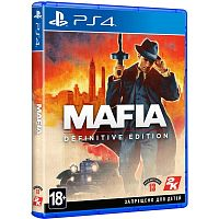 Игра_SONY PS4 Mafia: Definitive Edition [русская версия]__