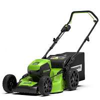 Газонокосилка GREENWORKS GD60LM46HP 2502807 без АК и ЗУ