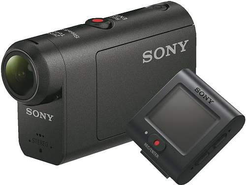 Экшн-камера_SONY HDR-AS50R__Черный