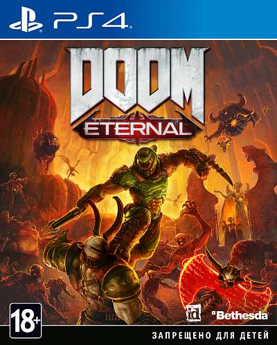 Игра_SONY PS4 DOOM Eternal [русская версия]__