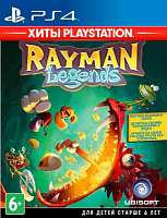 Игра SONY PS4 Rayman Legends (Хиты PlayStation) [русская версия]