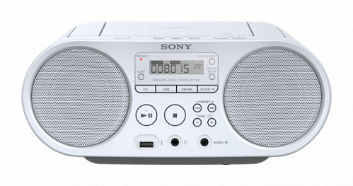 CD-магнитола_SONY ZS-PS50/W__
