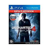 Sony PS4 Uncharted 4: Путь вора (Хиты PlayStation) [русская версия]
