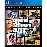 Игра_SONY PS4 Grand Theft Auto V. Premium Edition [русские субтитры]__