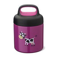 Термос_Carl Oscar LunchJar™ Cow 0.3л фиолетовый__