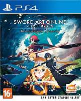 Игра SONY PS4 Sword Art Online: Alicization Lycoris [русские субтитры]