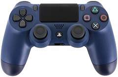 SONY PS4 Контроллер Dualshock 4/ Midnight Blue ( CUH-ZCT2E)