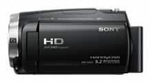 "Видеокамера Sony HDR-CX625 черный 30x IS opt 3"" Touch LCD 1080p MSmicro+microSDXC Flash/Flash/WiFi"