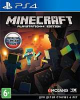 Игра SONY PS4 Minecraft [русская версия]