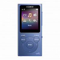 MP3 плеер Walkman Sony NW E394 L Цвет Синий