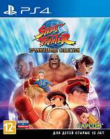 SONY PS4 Street Fighter 30th Anniversary Collection [русская документация]