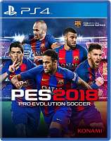 SONY PS4 Pro Evolution Soccer 2018 [русская версия]