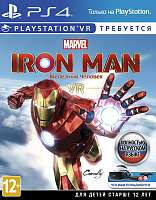 Игра PS4 Marvel's Iron Man VR (поддержка VR) [русская версия]