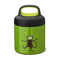 Термос для еды_Carl Oscar LunchJar™ Monkey 0.3л лайм__