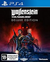 Игра_SONY PS4 Wolfenstein: Youngblood. Deluxe Edition [русская версия]__