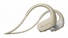 MP3 плеер Walkman Sony NW WS414 цвет слоновой кости